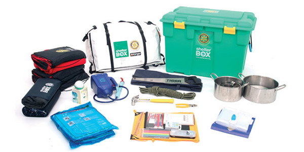 Contents of a ShelterBox
