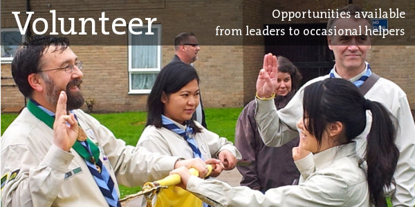 Volunteer in Scouting